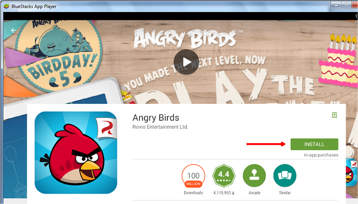 install angry birds for windows 10
