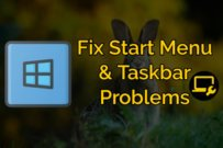 Windows 10 Start Menu or Taskbar Not working – Fix it Now