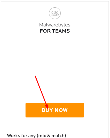 step to buy Malware Bytes