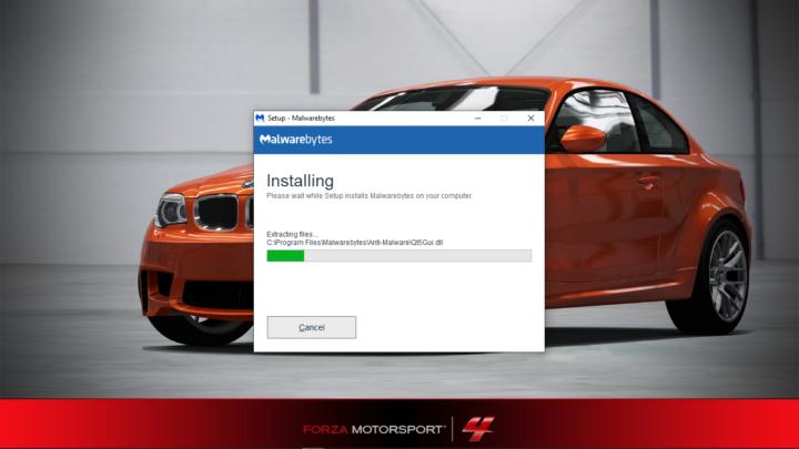 installing malware bytes