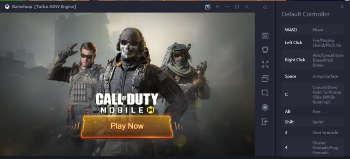 paly call of duty mobile on Windows 10 computers