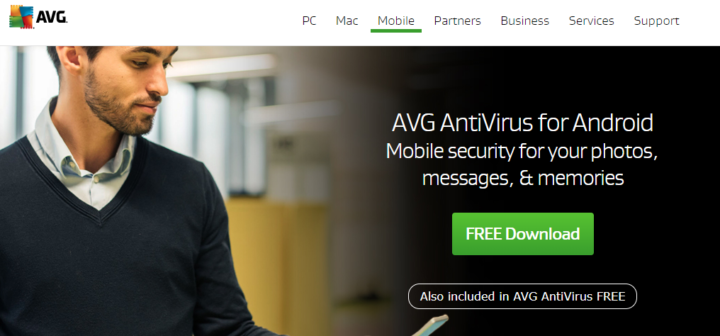 AVG Mobile Security for your android device