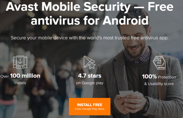 Avast Mobile Security Antivirus for Android