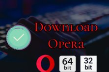 Opera For Windows 10 PC Download 64 & 32 Bit