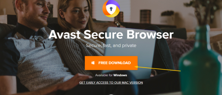 Avast Secure Browser download For Windows 10