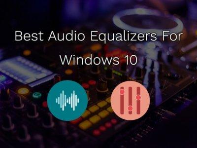 best equalizer for windows 10